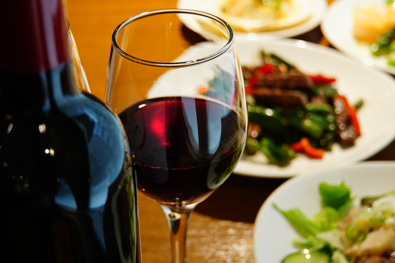 ワインと食べ物